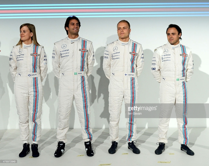 williams team launch - 2014